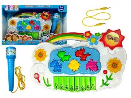 dětský interaktivní klavír kytičky (2)