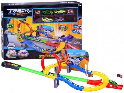 velká autodráha s autíčky track racing (2)