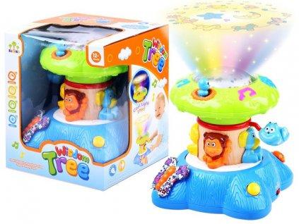dětské noční světlo projektor veselý kolotoč (2)