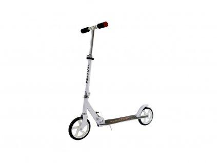 Dětská koloběžka Scooter velká kola bílá