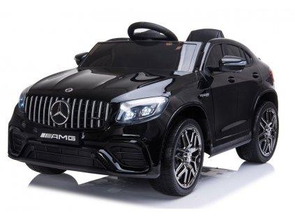 dětské elektrické autíčko mercedes benz lakované černé (7)