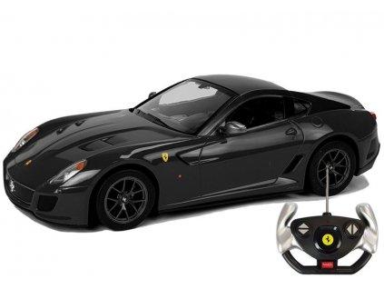 auto na dálkové ovládání RC ferrari černé (2)