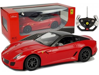 auto na dálkové ovládání Ferrari červené RC (2)