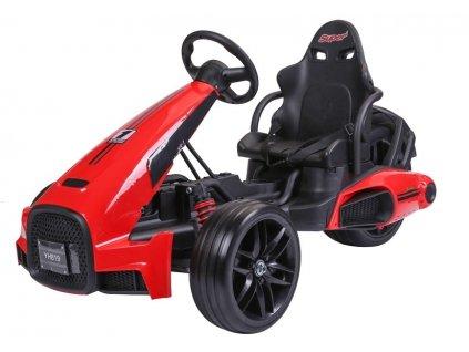 dětská elektrická motokára formule červená (4)