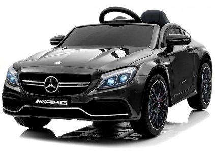 dětské elektrické autíčko Mercedes C63 černé (7)