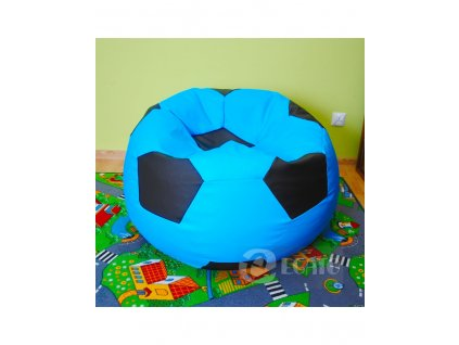 sedací vak míč modro černý xxl (2)