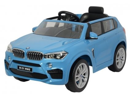 Dětské elektrické autíčko BMW X5 modré