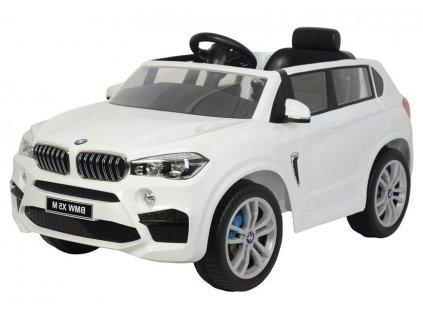 Dětské elektrické autíčko BMW X5 bílé