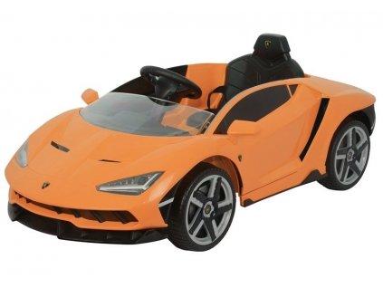 Dětské elektrické autíčko Lamborghini Centenario oranžové