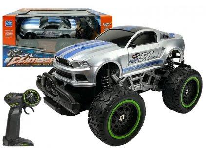 Auto na dálkové ovládání R:C Monster stříbrné