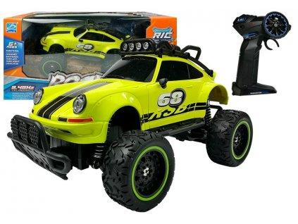 Auto na dálkové ovládání Beetle zelené1