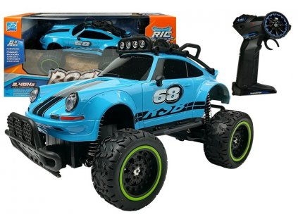 Auto na dálkové ovládání Beetle modré