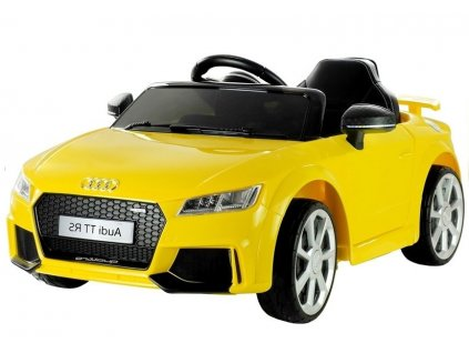 dětské elektrické autíčko audi tt rs žluté (2)