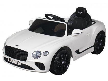 Dětské elektrické autíčko Bentley bílé