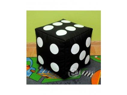 sedací měkká hrací kostka černo bílá mamido toys (1)