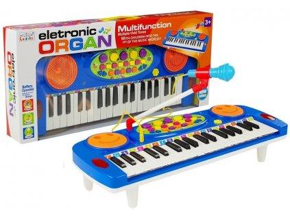 dětský interaktivní klavír s mikrofonem (4)