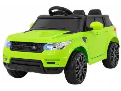 mamido dětské elektrické autíčko land rapid race zelené (2)