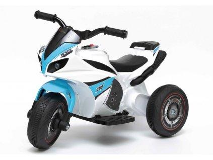 dětská elektrická motorka R01 modrá (2)
