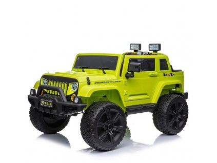 dětské elektrické auto jeep 4x4 zelené (3)
