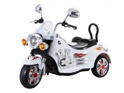 dětská elektrická chopper bílá (4)