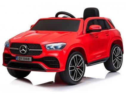 dětské elektrické autíčko mercedes červené (2)
