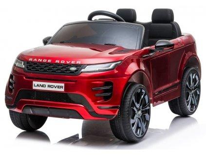 dětské eleketrikcé autíčko range rover evoque červené (4)
