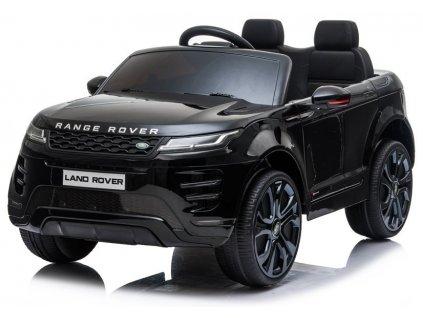 dětské elektrické autíčko lakované černé (3)