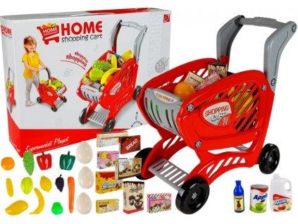 nákupní vozík s potravinami (1)