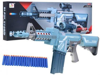Dětská šedá pistole Blaze Storm se zaměřovačem