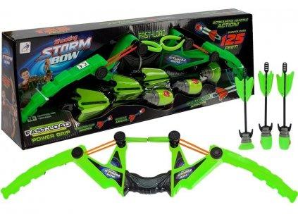 dětský luk sport bow zelený (2)