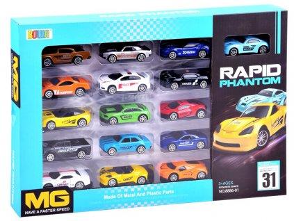 kovová autíčka 16 modelů (3)