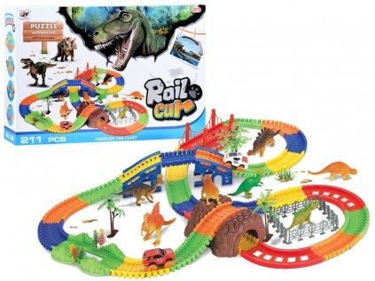 svítící autodráha rail tracks (3)