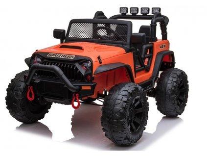 elektricke auticko jeep oranzove (1)