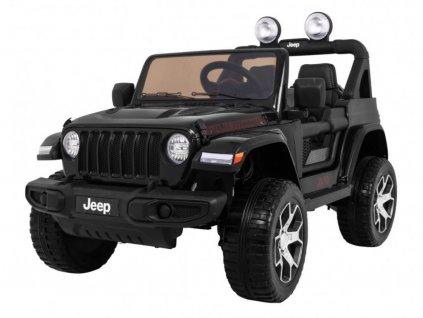 Mamido elektricke auticko Jeep Wrangler Rubicon 2020 4x4 cerne4