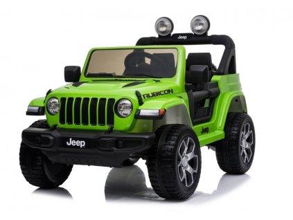 Mamido elektricke auticko Jeep Wrangler Rubicon 2020 4x4 zelene (3)