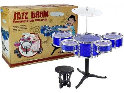 mamido Dětské bubny modré