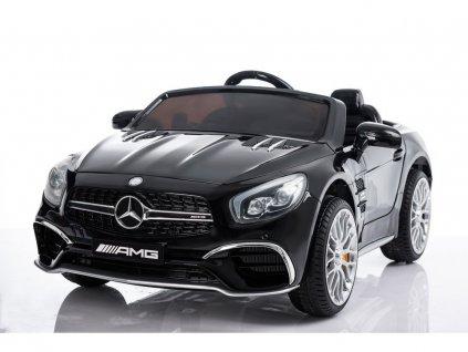 mamido Elektrické autíčko Mercedes SL65 lakované černé 6