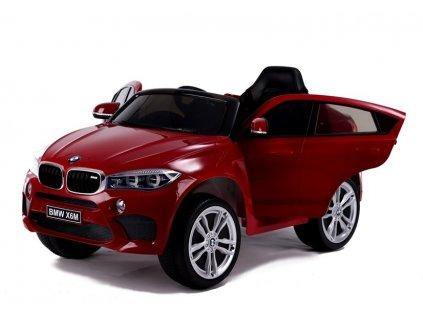 dětské elektrické autíčko mercedes x6 lakované červené (8)