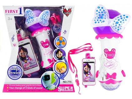 dětský karaoke mikrofon pro holky (1)