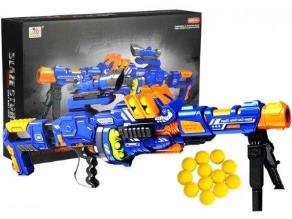 Produkt Dětský poloautomatický samopal na míčky pistole Blaze Storm (4)