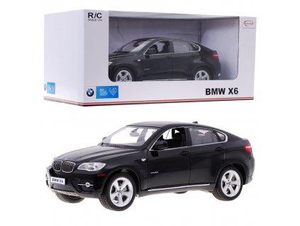 auto na dálkové ovládání BMW X6 černé rastar (10)