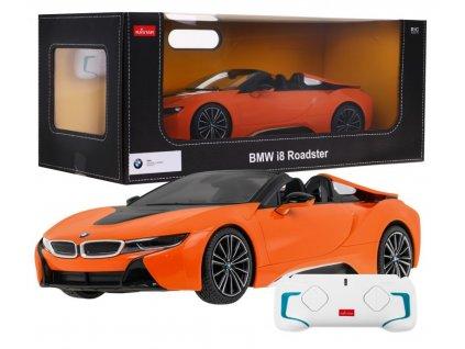 auto na dálkové ovládání BMW i8 rastar oranžové (1)