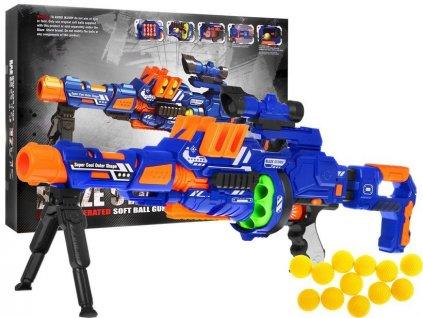 Dětský poloautomatický samopal na míčky pistole Blaze Storm