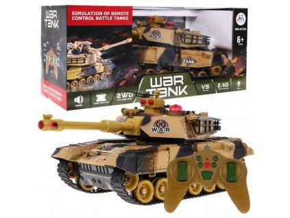 tank na dálkoví ovládání běžový (1)