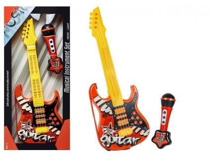 dětská elektrická kytara červená (2)