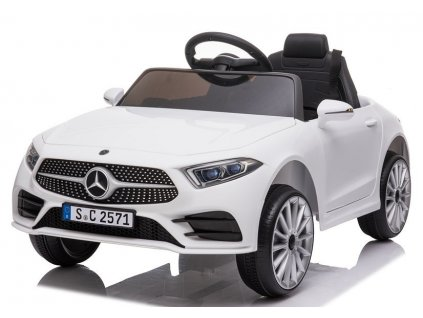 dětské elektrické autíčko mercedes benz bílé CLS350 (3)