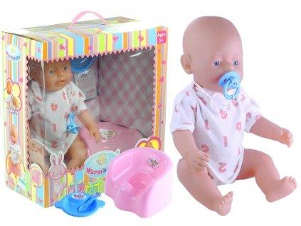panenka s oblečkem a doplňky baby warm