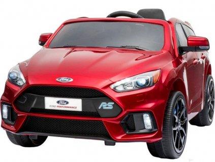 Elektricke auticko Ford Focus lakovane cervene, modre 2,4G (14)