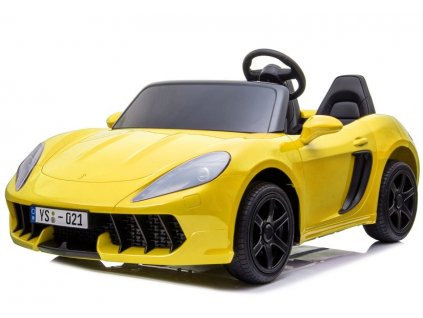 Elektrické autíčko YSA žluté 2