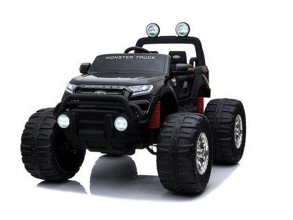 elektrické autíčko ford monster truck lakované černé (1)